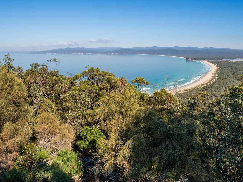 Disaster Bay Lookout, Ben Boyd National Park
